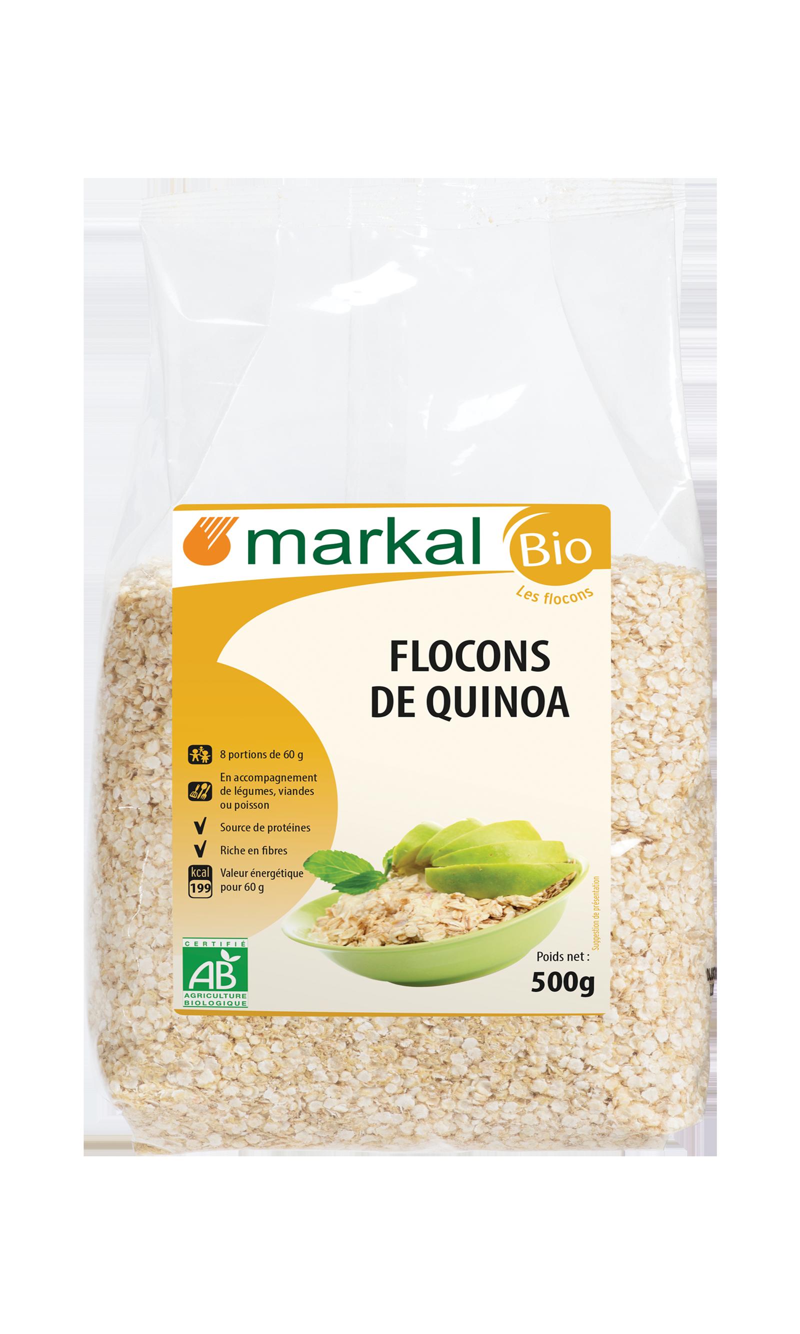 Flocons de quinoa - sans gluten