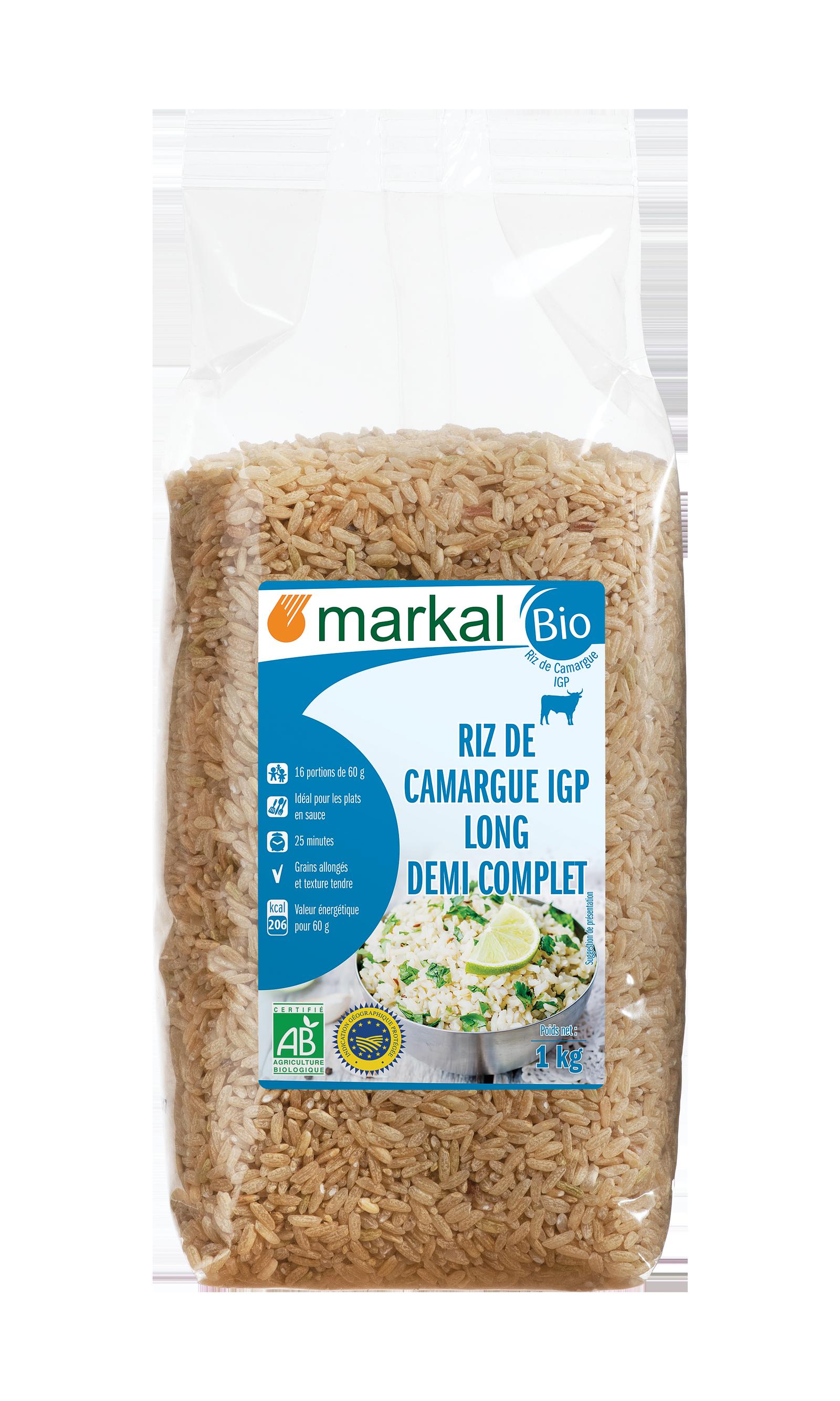 Riz long 1/2 complet de Camargue