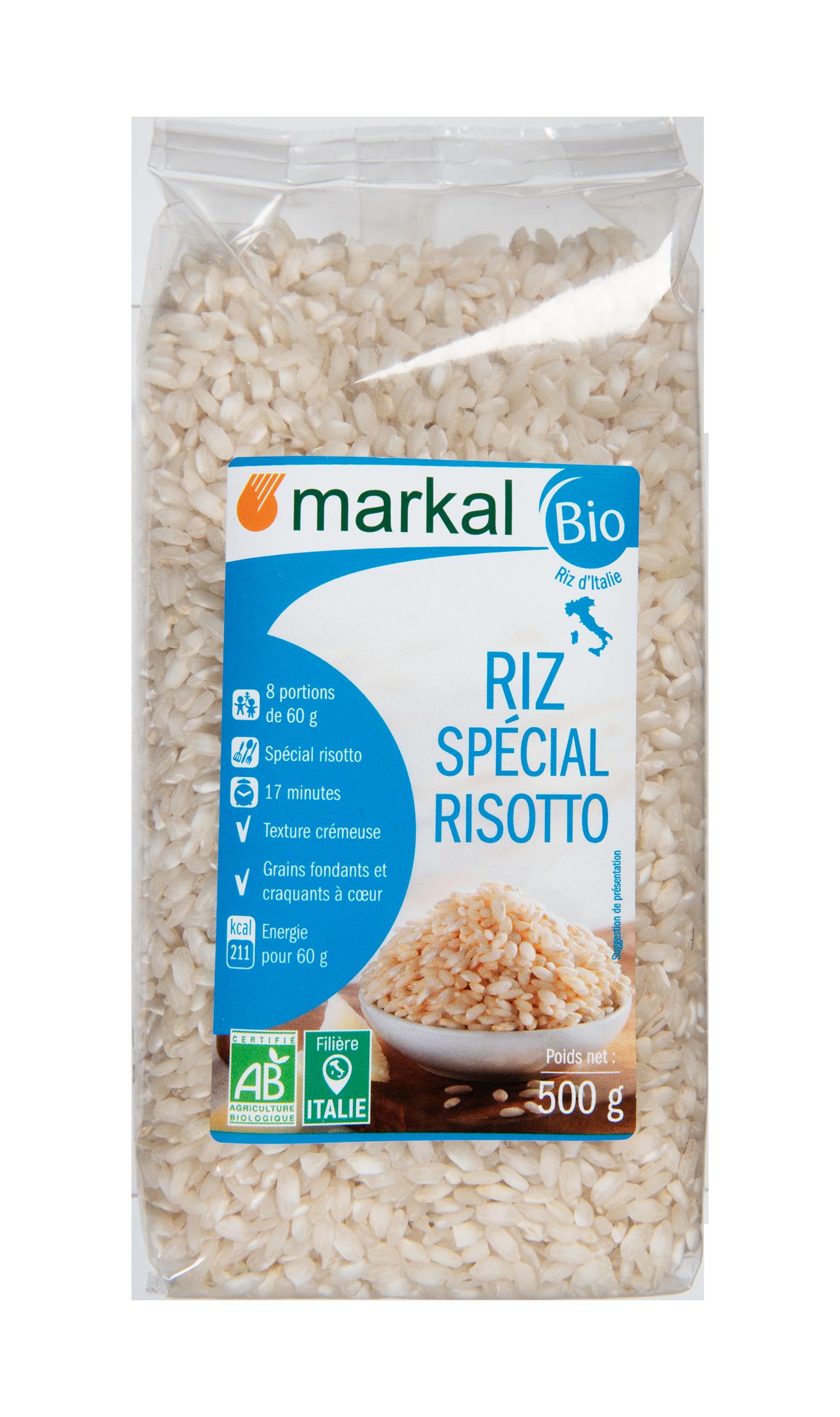 Riz long blanc spécial risotto