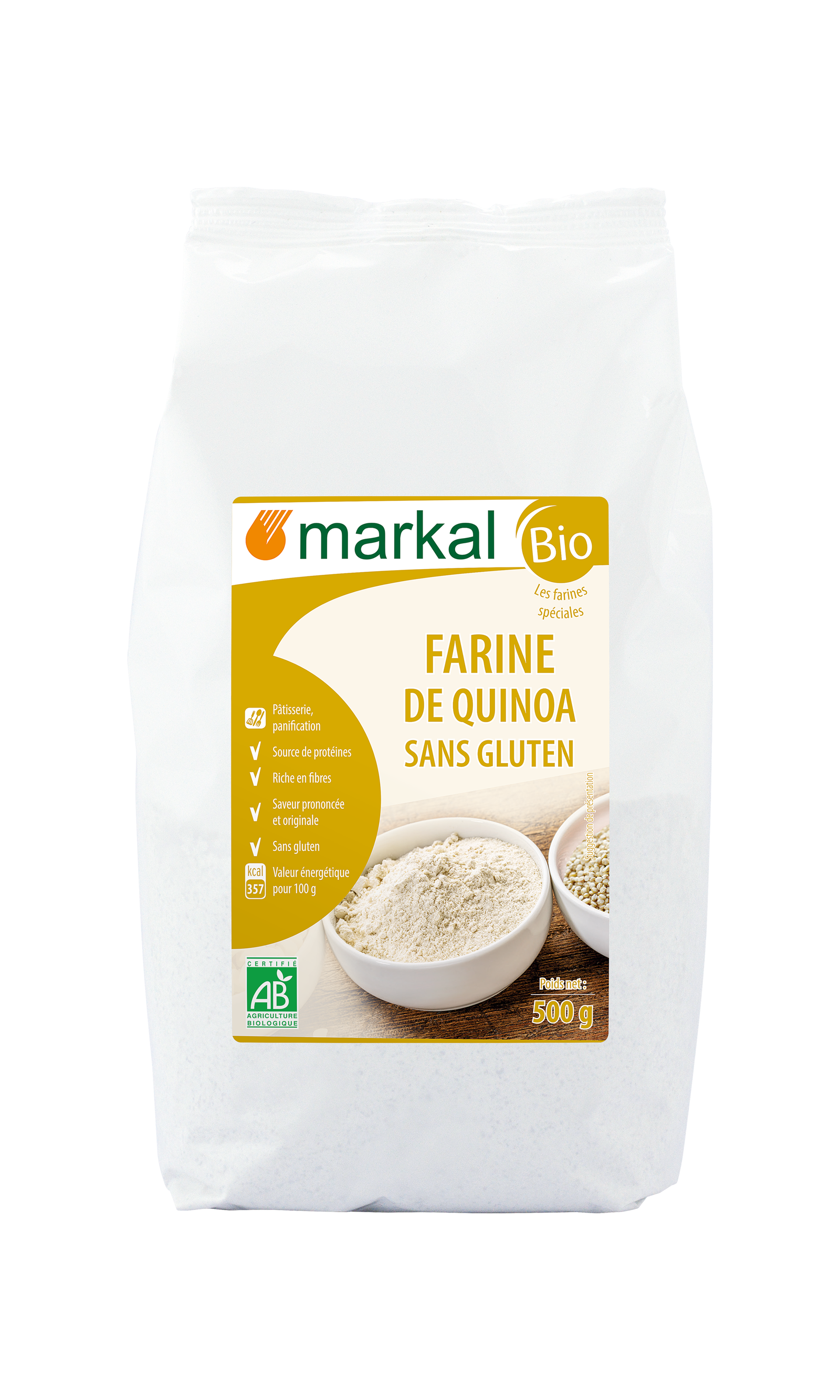 Farine de quinoa - sans gluten
