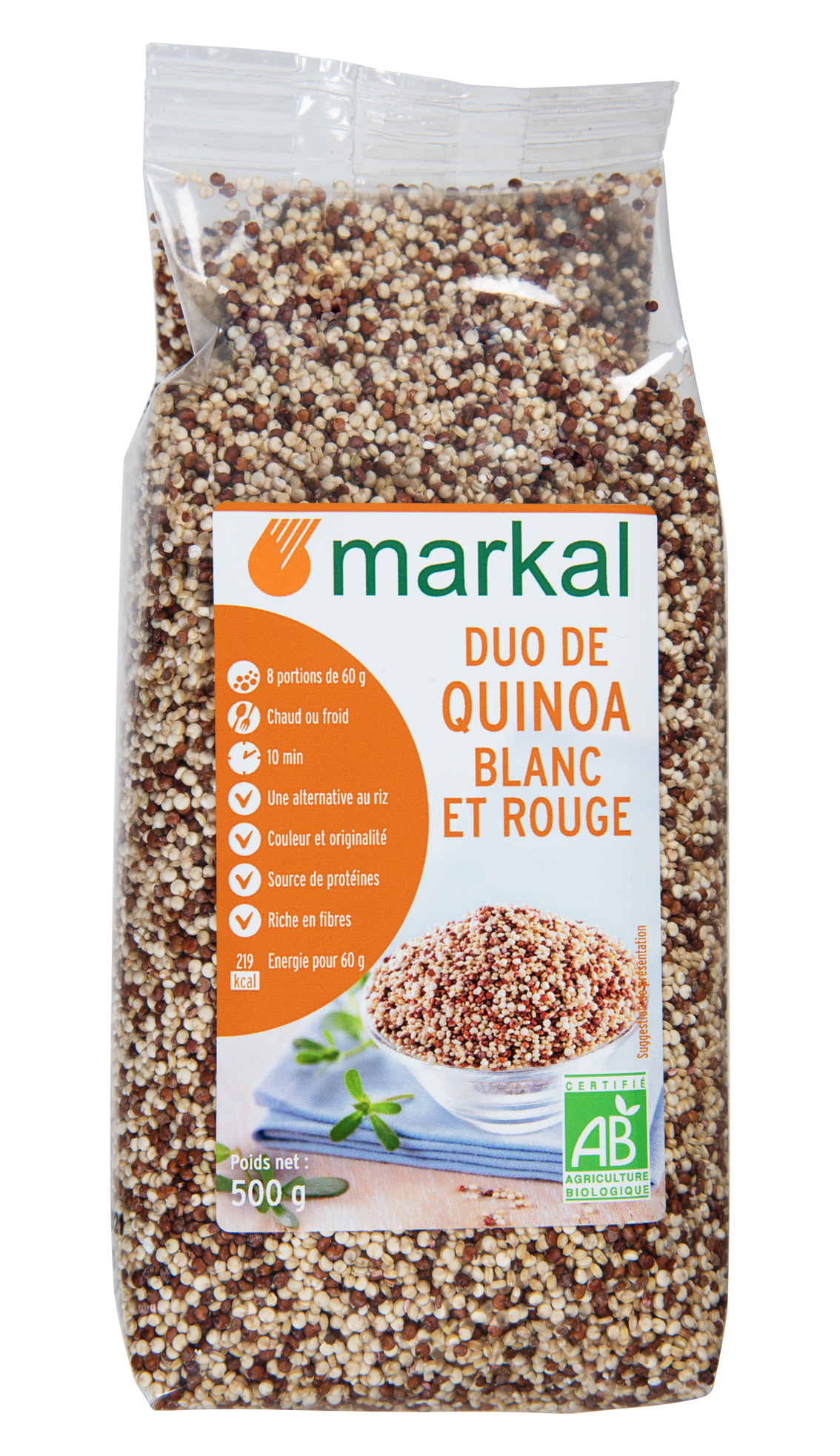 Duo de quinoa rouge et blanc