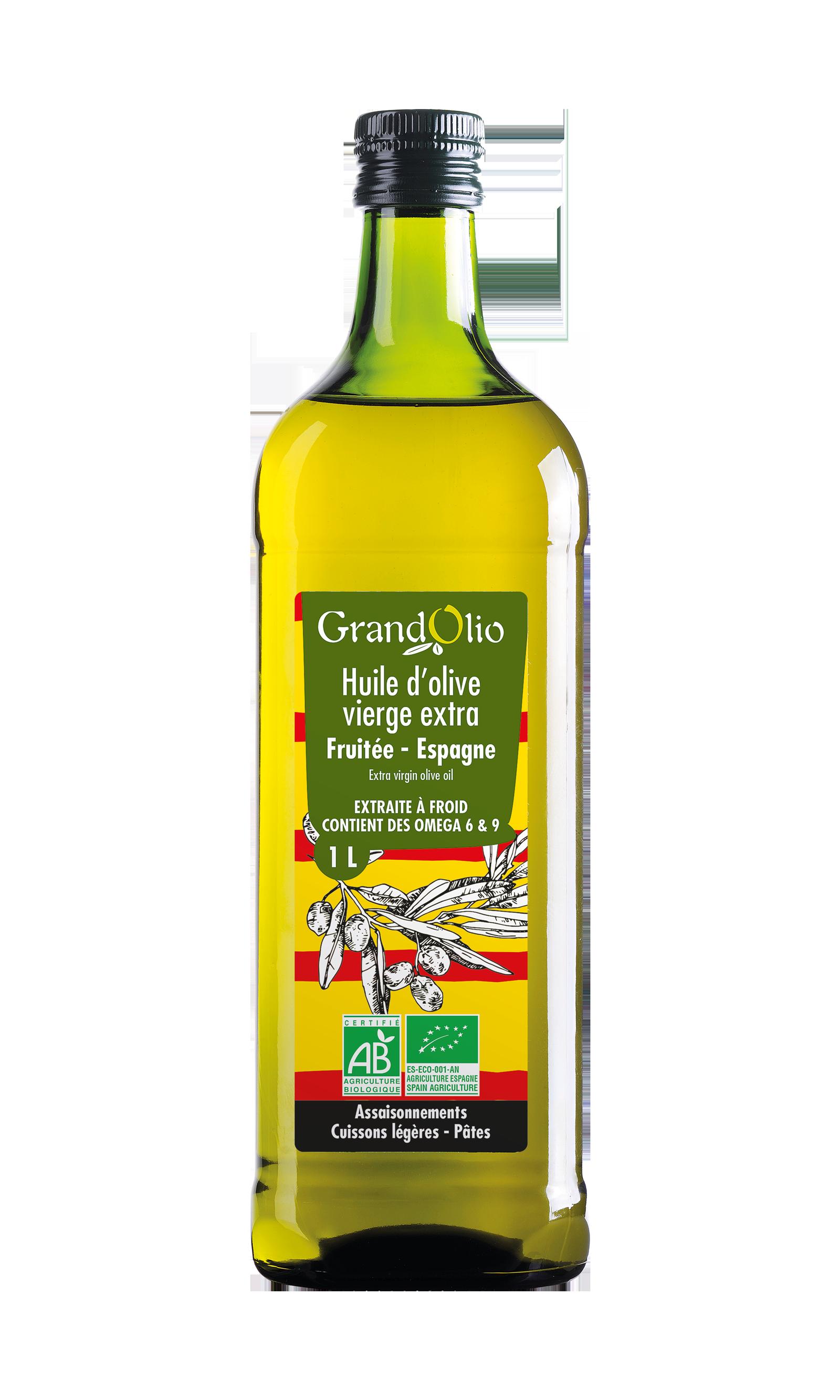 Olive 100% Espagne - fruitée vierge extra
