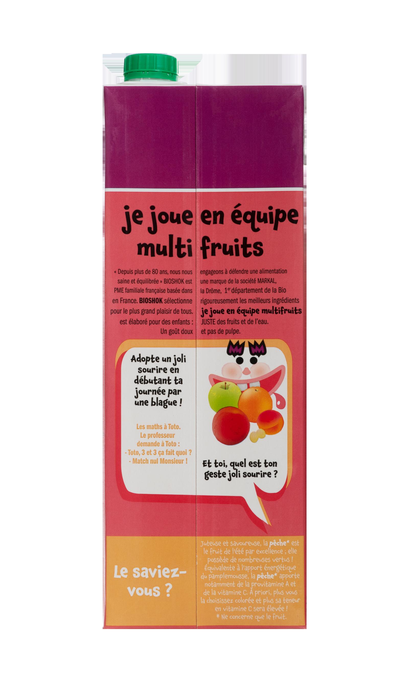 Nectar - Je joue en équipe multi-fruits !