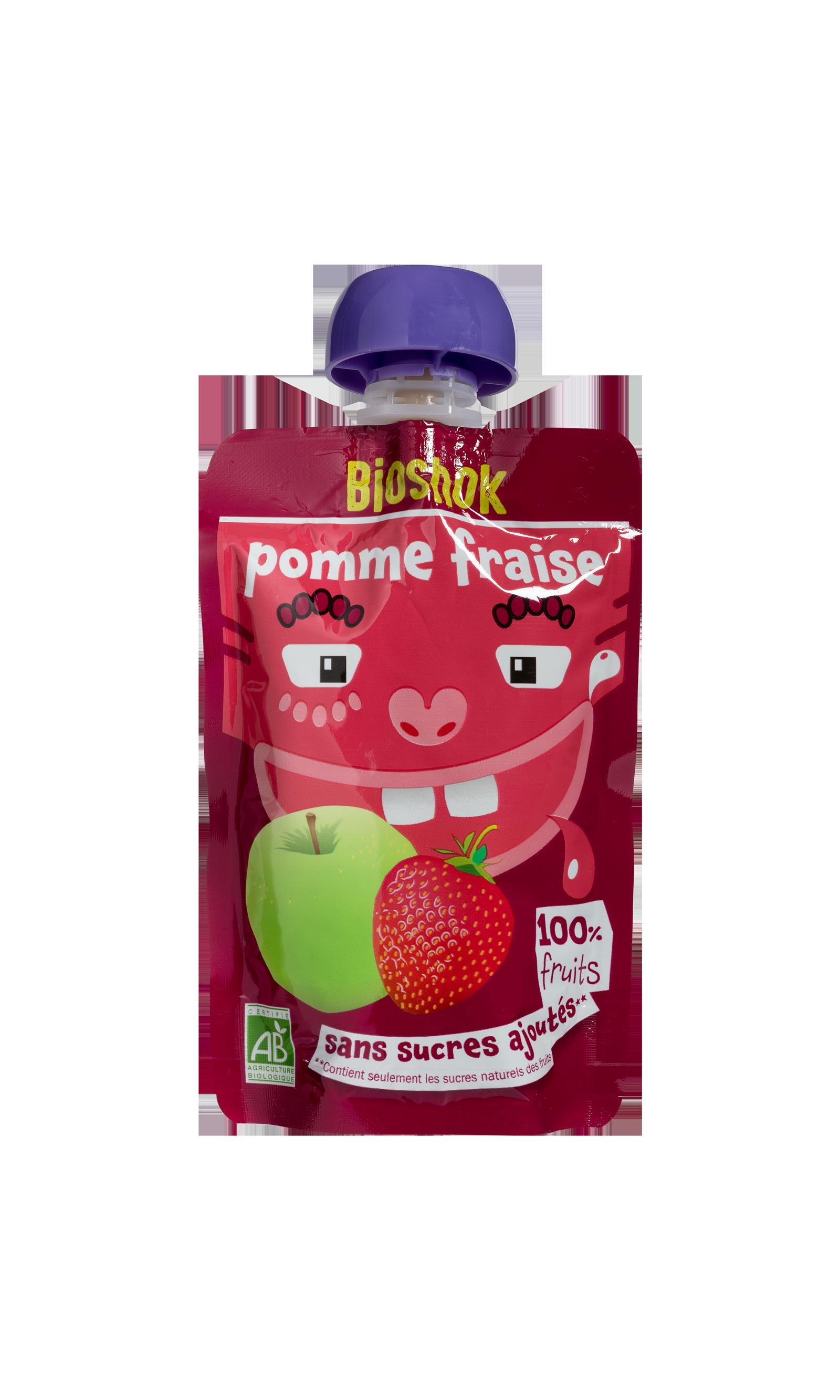Pomme-fraise