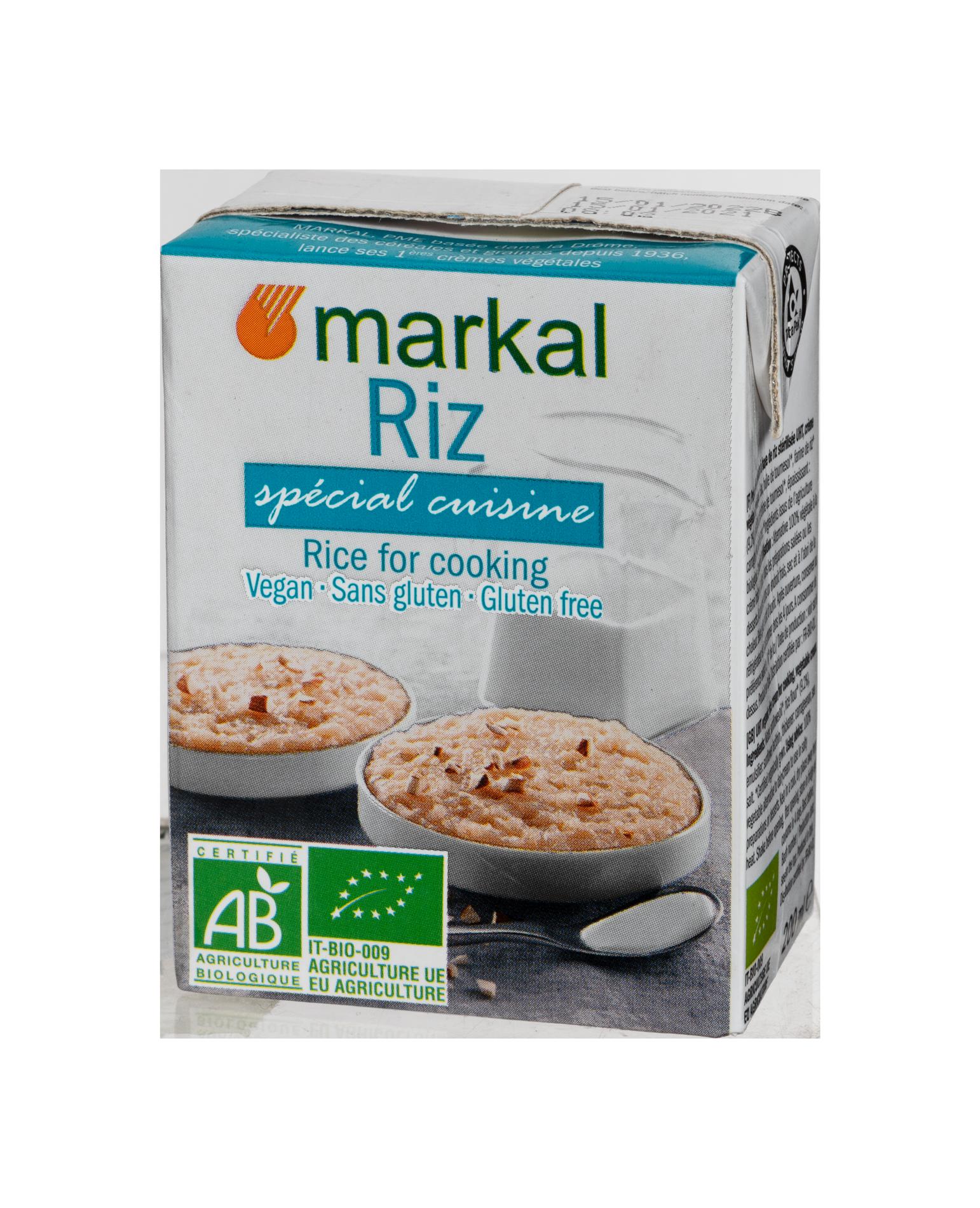 Crème de riz spécial cuisine