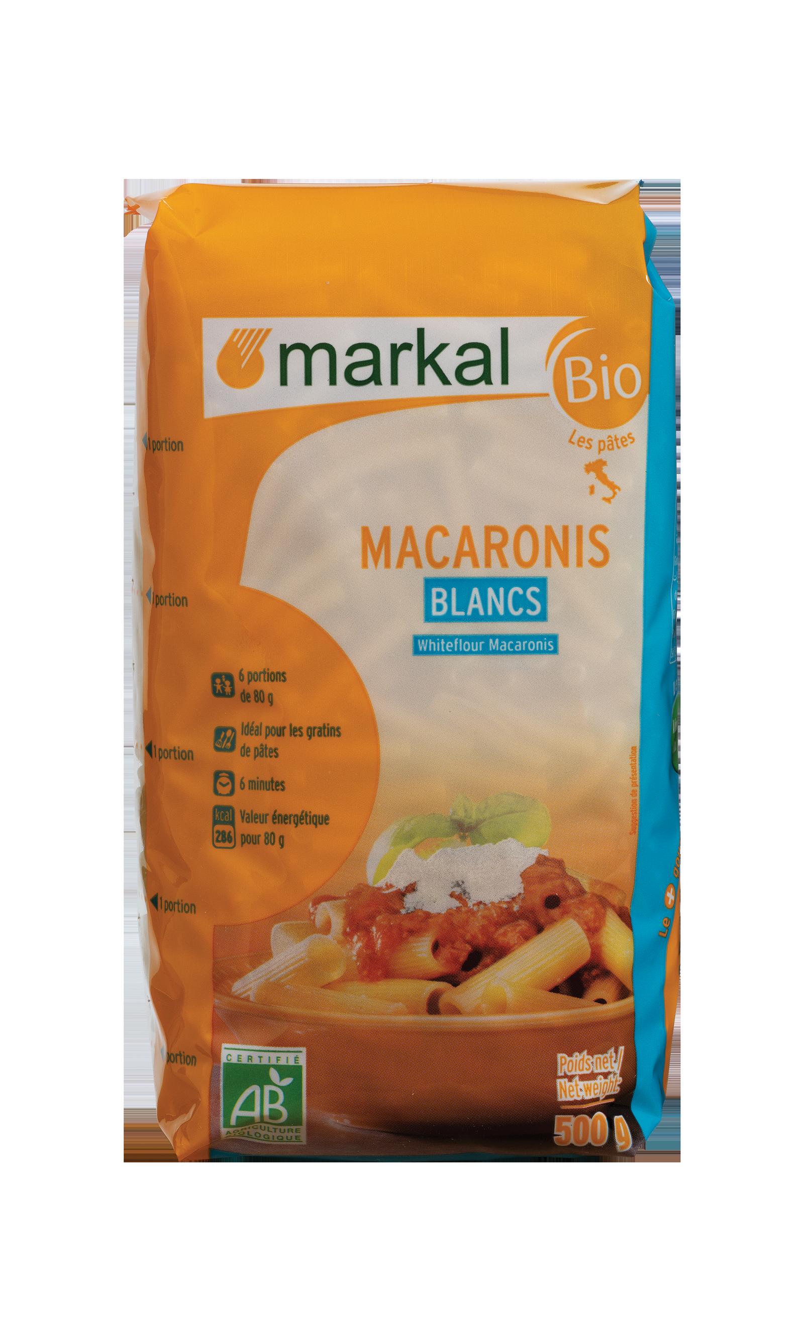Macaroni blancs