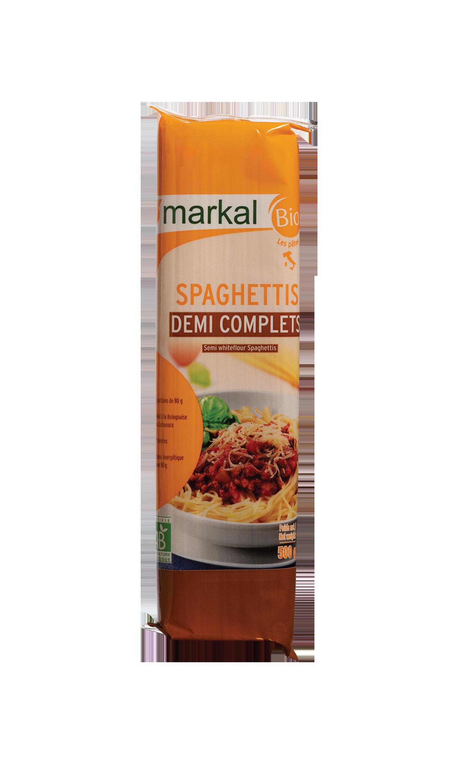 Spaghetti 1/2 complets