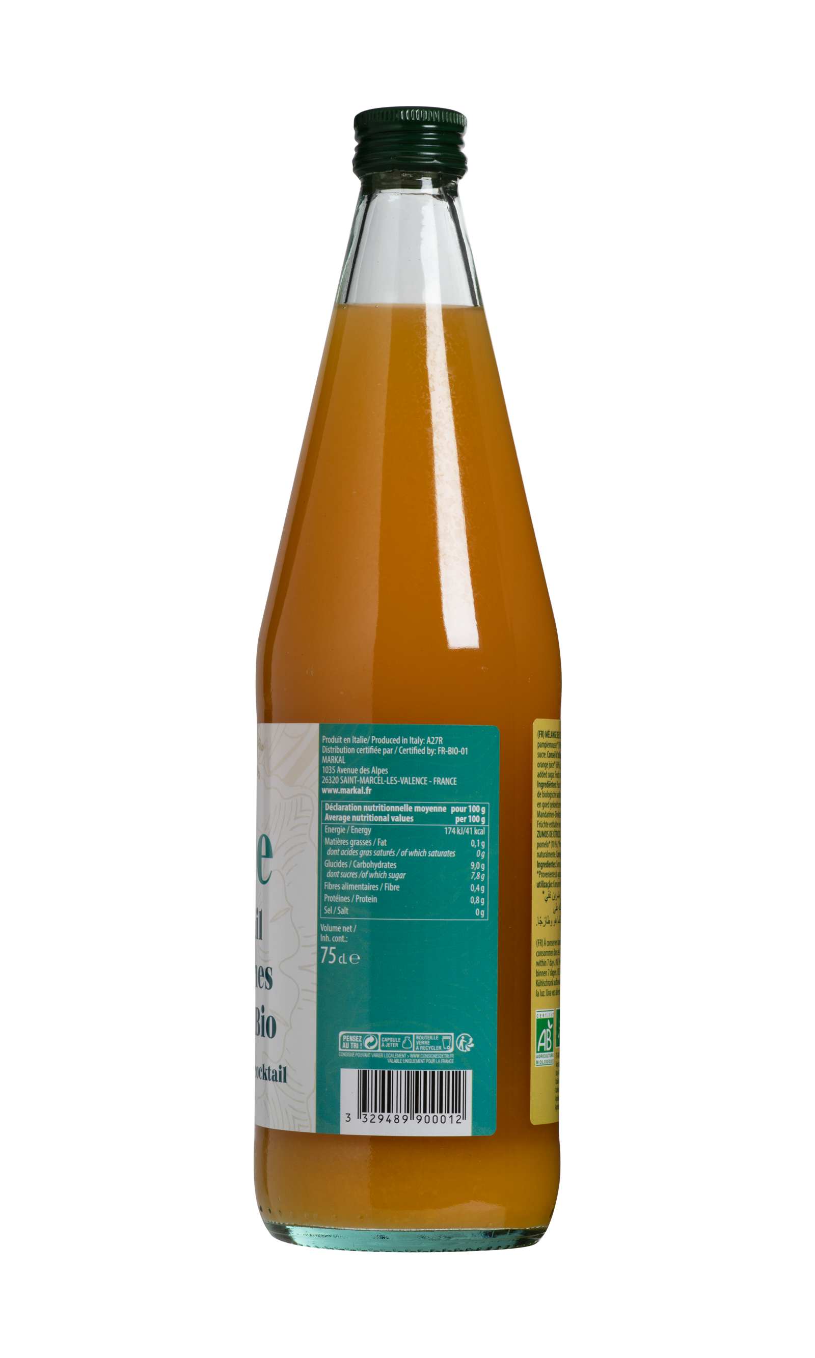 Cocktail d'agrumes sicilien