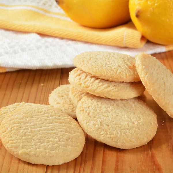 Sablés à la farine de maïs et au citron