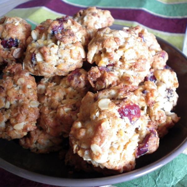 Biscuits muesli aux cranberries