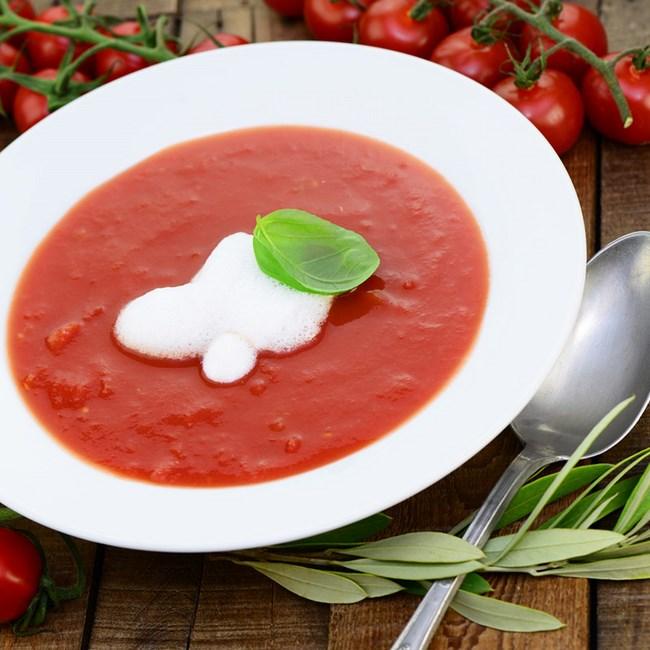 Crème de riz à la tomate