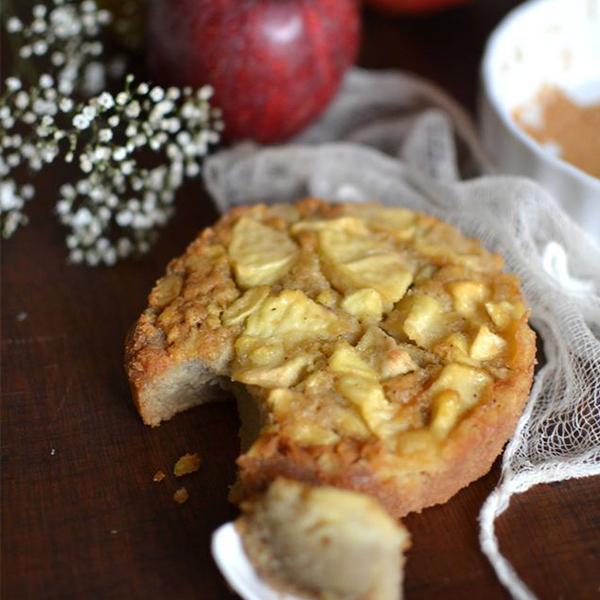Gâteau moelleux à la pomme