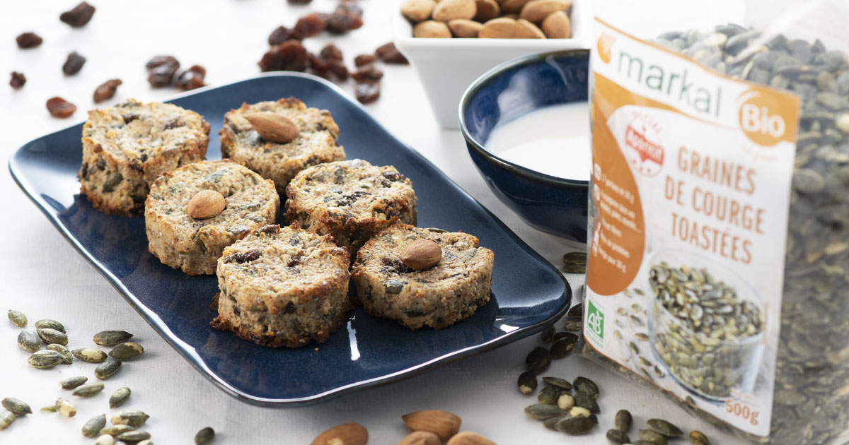 Biscuits aux graines