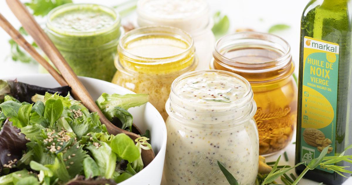 Les sauces à salade