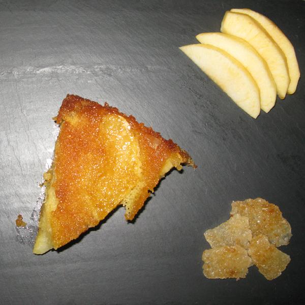 Quatre-quarts aux pommes