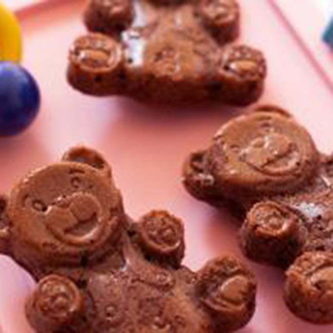 Petits biscuits oursons aux amandes
