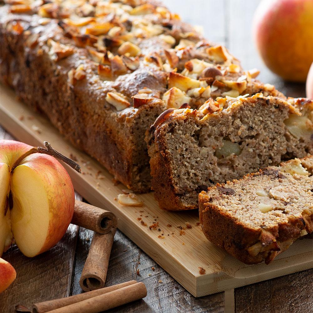 Apple bread aux pépites de chocolat