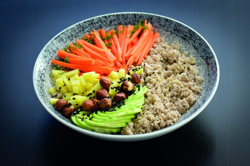 Veggie bowl couscous sarrasin