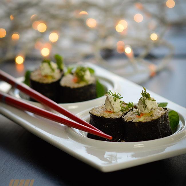 Maki couscous sarrasin
