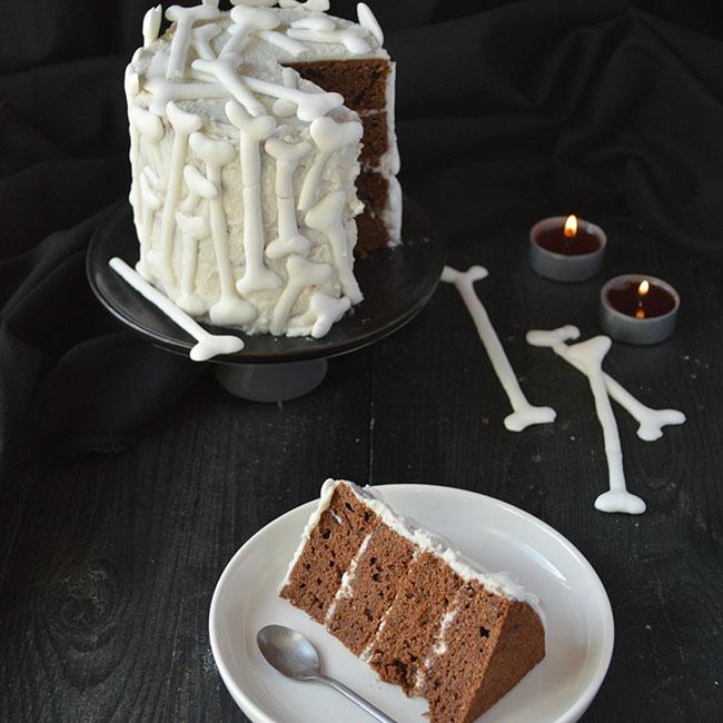 Halloween Layer Cake choco-coco