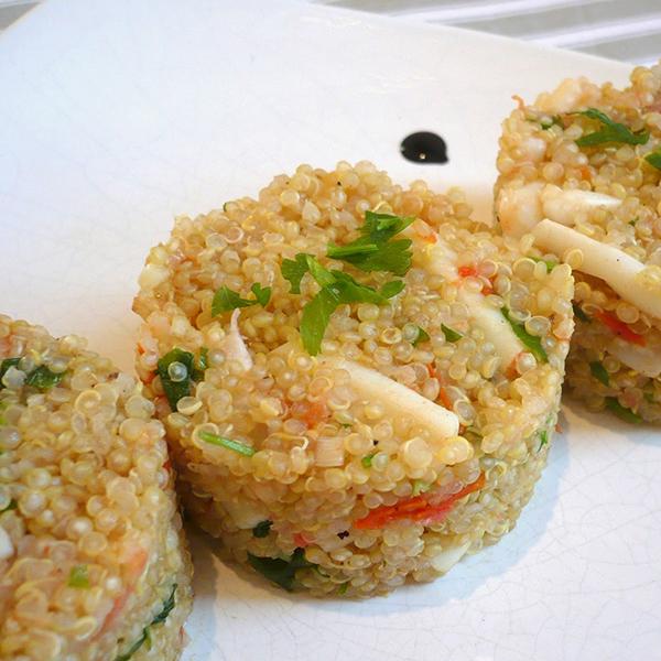 Quinoa aux calamars