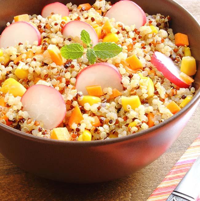 Quinoa aux carottes