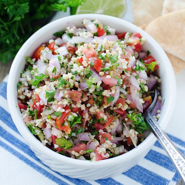 Salade de blé à l'espagnole