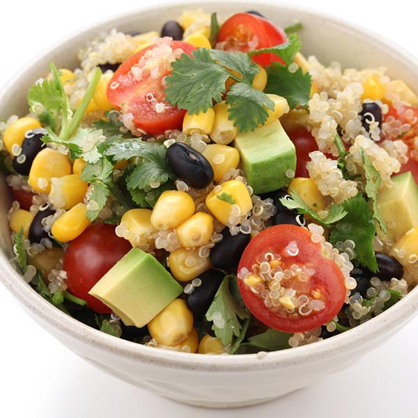 Salade de quinoa aux fromages