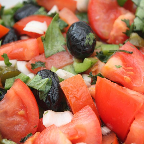 Salade niçoise au boulgour