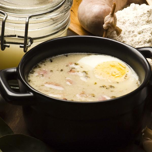 Soupe à l'avoine grillée et au dulse
