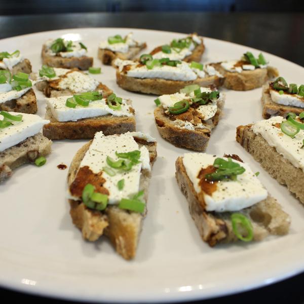 Toasts de chèvre
