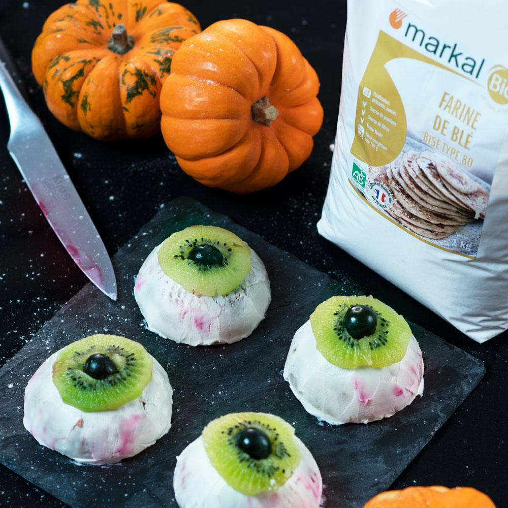 Pumpkin Spiced Cake Vegan d'Halloween