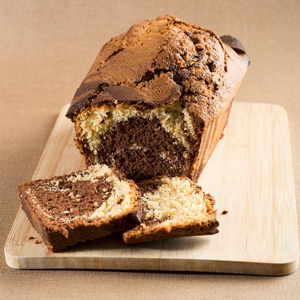 Biscuit marbré à la farine de châtaigne
