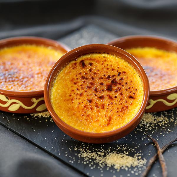 Crème brûlée à la cassonade