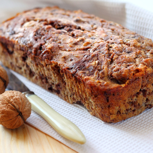 Gâteau aux dattes et aux noix