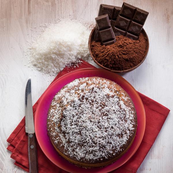 Gâteau quinoa-chocolat