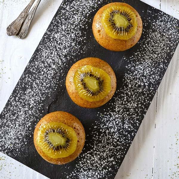 Petits gâteaux cuits à la vapeur {Chinese sponge cake}