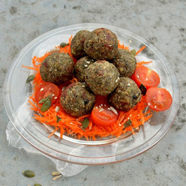Raw falafels {façon Provençale}