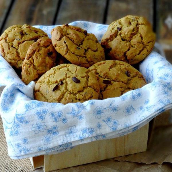 Cookies moelleux aux amandes et mulberries (sans gluten)