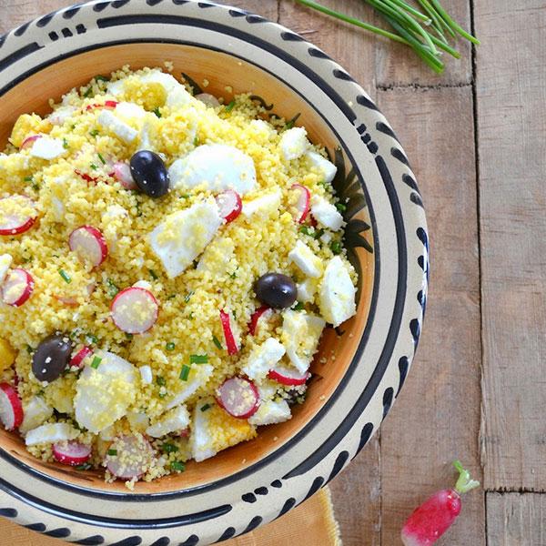 Taboulé de couscous maïs-riz